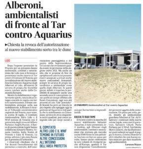 Aquarius_Il Gazzettino 26.7