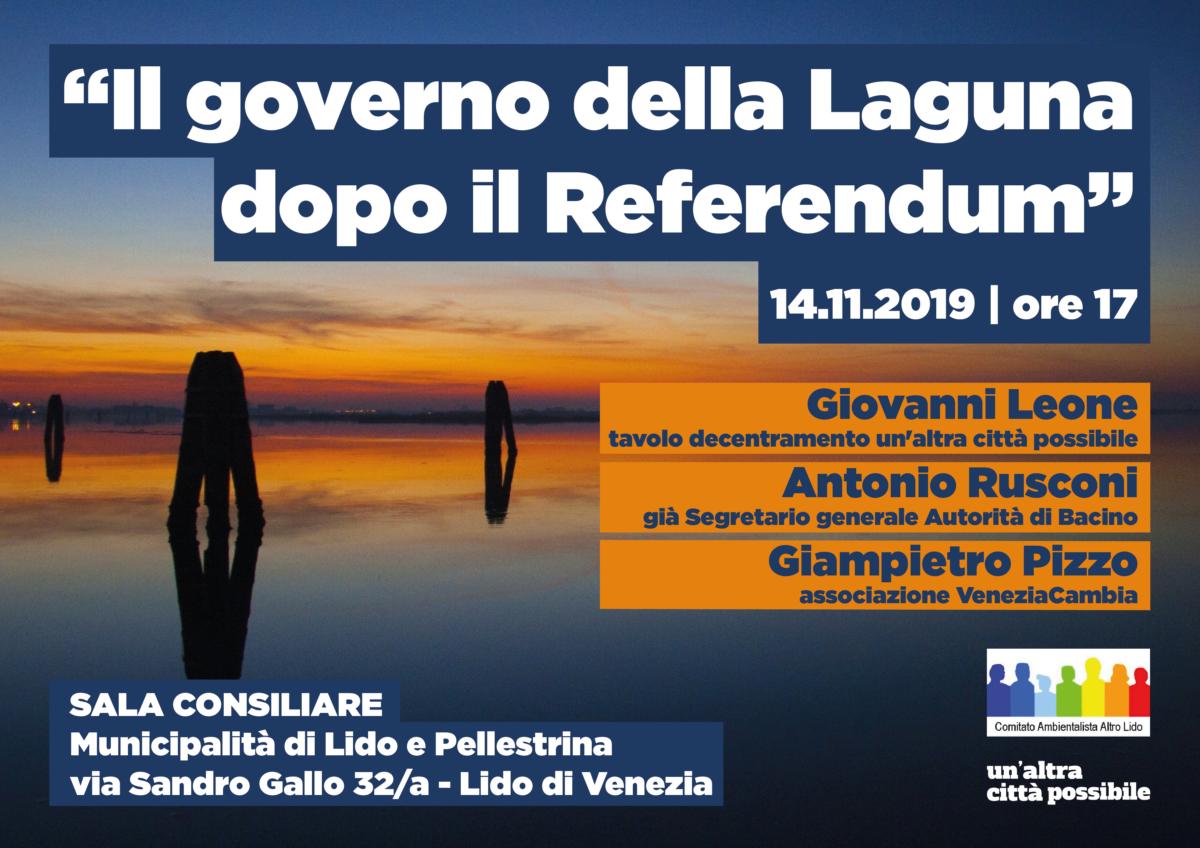 Il governo della laguna dopo il referendum