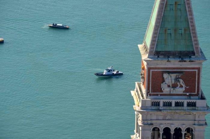 Venezia vuota vista dall'elicottero dei carabinieri _ FOTO1.jpeg